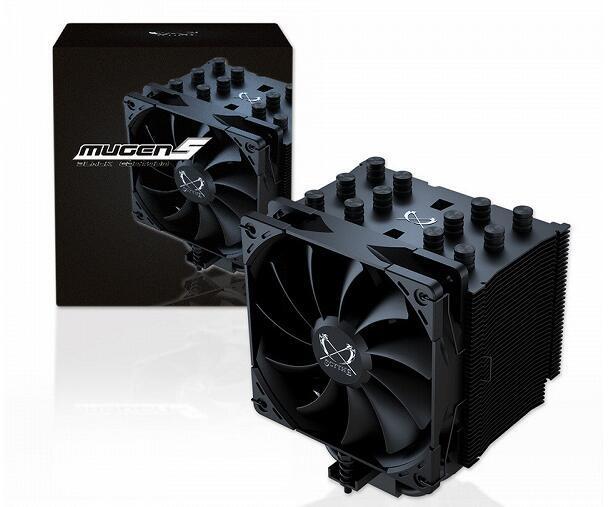Scythe Mugen 5 Black Edition冷却系统不仅在颜色上与原始型号有所不同
