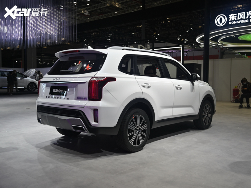 2021上海车展 东风悦达起亚智跑Ace首发