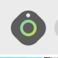 三星Galaxy Smart Tag追踪器看起来更像是卵石而不是瓷砖