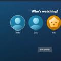 亚马逊推出Prime Video用户配置文件